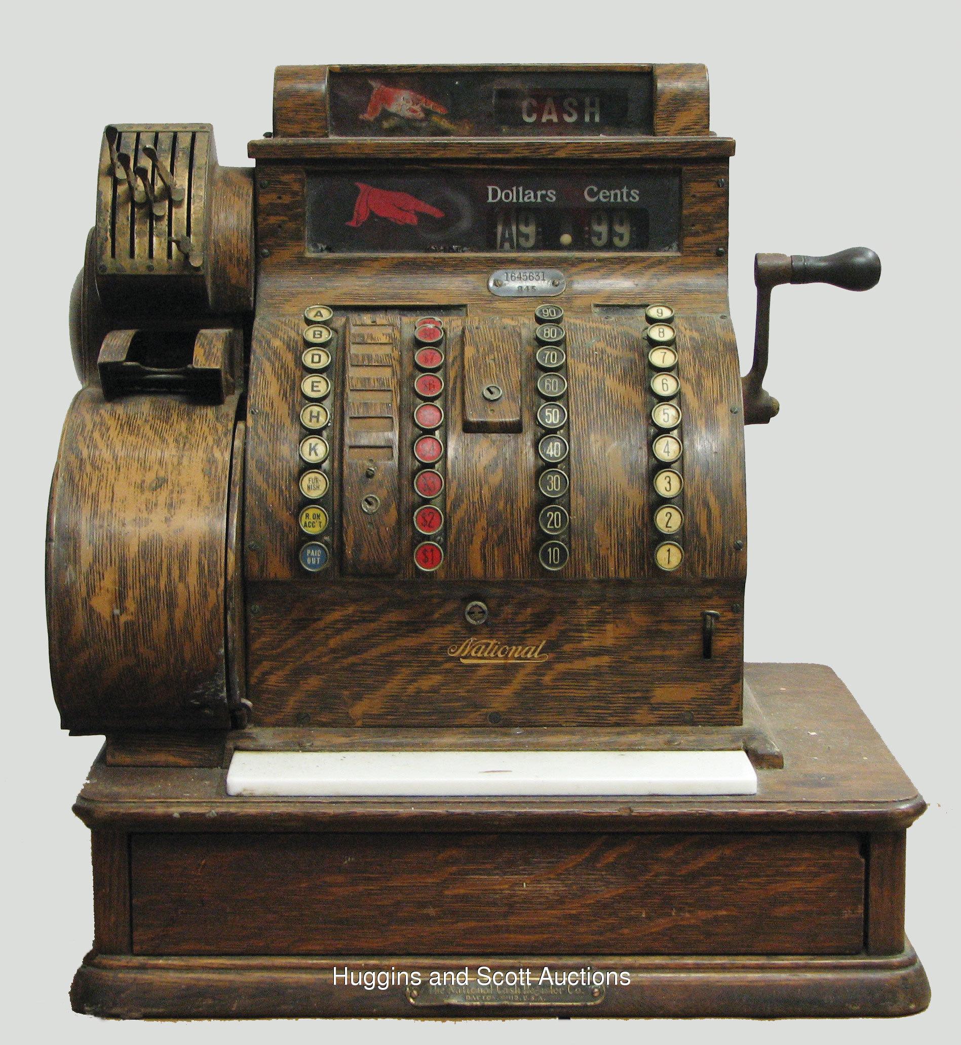 5135 antique cash register - Как изменится закон о применении ККТ: онлайн-кассы, электронный чек, отмена льготы для плательщиков ЕНВД